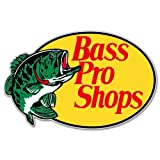"Bass Pro Shops FISHING sticker decal 5"" x 4"""