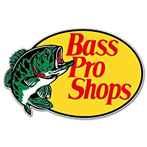 bass pro shops fishing sticker decal 5 x 4. Black Bedroom Furniture Sets. Home Design Ideas