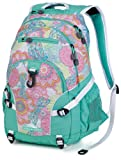 High Sierra Loop Backpack, Henna Dragon/Aquamarine/White, 19 x 13.5 x 8.5-Inch