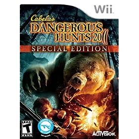 Cabela's Dangerous Hunts 2011 Special Edition: Nintendo Wii: Video Games