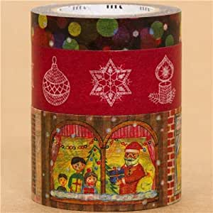 Set 3 pezzi nastri adesivi decorativi festivi natalizi di mt casa e cucina - Nastri decorativi natalizi ...