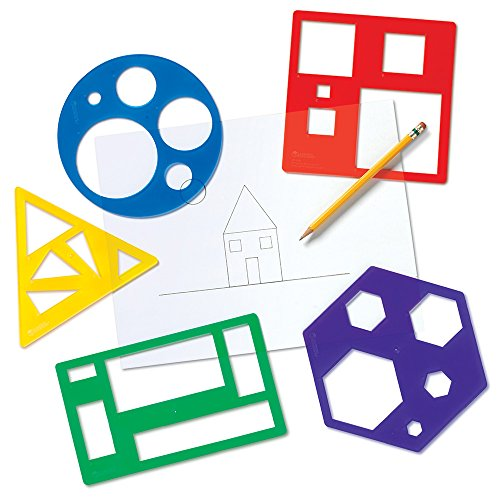 Learning Resources Primary Shapes Template Set - 1