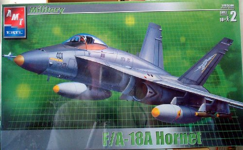 #31786 AMT F/a-18a Hornet 1/48 Scale Plastic Model Kit ,Needs Assembly