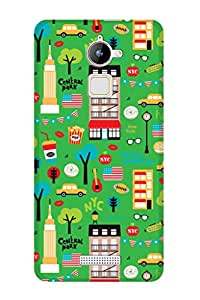 ZAPCASE PRINTED BACK COVER FOR Coolpad Note 3 Lite