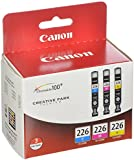 Canon CLI-226 3 Color Value Pack Ink, Genuine Ink
