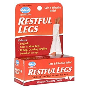 【Hyland's】むずむず脚サプリRestful Legs Quick-Dissolving Tablets, 50 Tablets並行輸入品