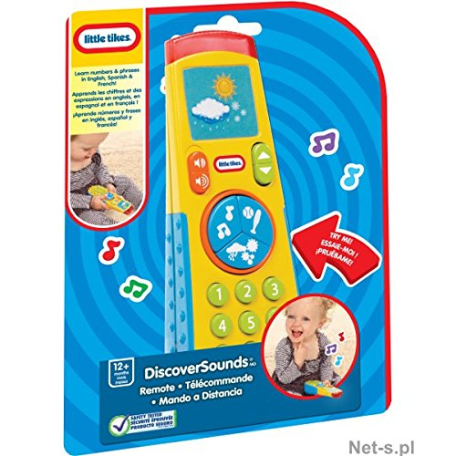 Little Tikes Discover Sounds Universal Remote Control - English, Spanish & French - 1