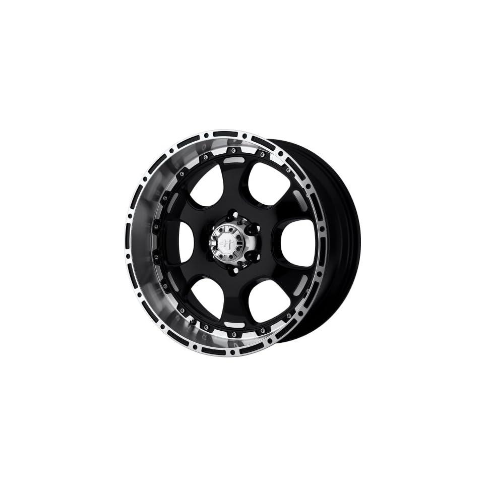 Helo HE842 Gloss Black Machined Wheel   (16x8/6x5.5)