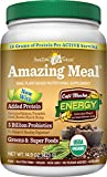 Amazing Grass Amazing Meal Supplement Powder, Cafe Mocha, 14.1 Ounce