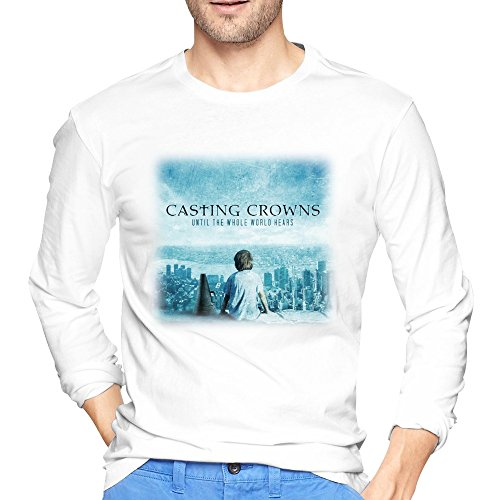 Men Casting Crowns Until The World Hears Album T Shirts Long-Sleeve (Casting Crowns Tickets compare prices)