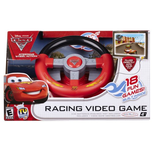 Disney Deluxe TV Games Cars 2 Plug and Play Drive and Go Game