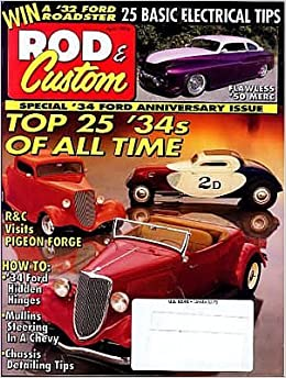 April 1994 HOT ROD Magazine- IROC Racer  '48 Gallery  Mopar Heads   Monty Berney