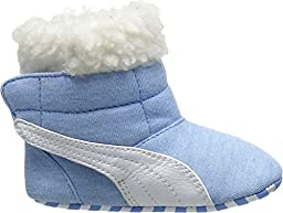 Puma Kids Baby Boy\'s Baby Boot Fur (Infant/Toddler) Little Boy Blue/White Boot 2 Infant M