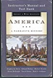 img - for America: A Narrative History: Brief 8th Edition (8e) Instructor's Manual and Test Bank book / textbook / text book