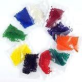 10 Bag 50g Water Aqua Crystal Soil Bio Gel Ball Beads Wedding Vase Bio Hot Pink