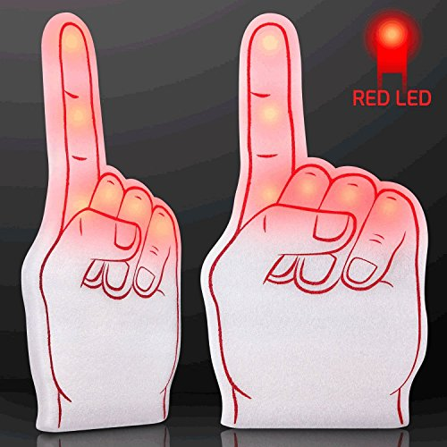 Number One Foam Light Up Finger Red by Blinkee (Number One Finger compare prices)