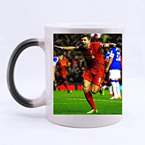 Steven Gerrard Popular Soccer Player Custom Morphing Mug, Fantasy Color-Changing Mug by YCD_diy