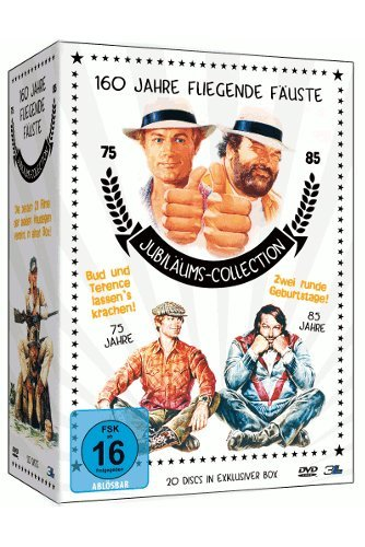 160 Jahre fliegende Fäuste - Bud Spencer und Terence Hill Jubiläums-Collection (Limited Edition, 20 Discs)