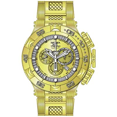 Invicta Men's 15919 Subaqua Analog Display Swiss Quartz Gold Watch