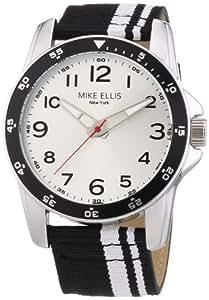 mike ellis new york herren armbanduhr xl analog quarz textil m3145 2 uhren. Black Bedroom Furniture Sets. Home Design Ideas