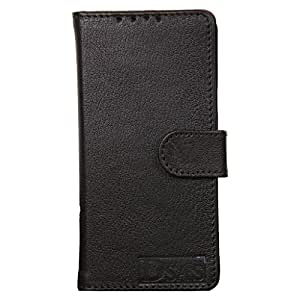 Dsas Geniune Leather Wallet Flip Cover designed for Apple iphone 5