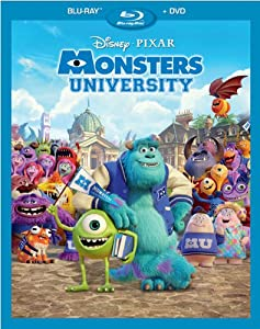 Monsters University Bluray