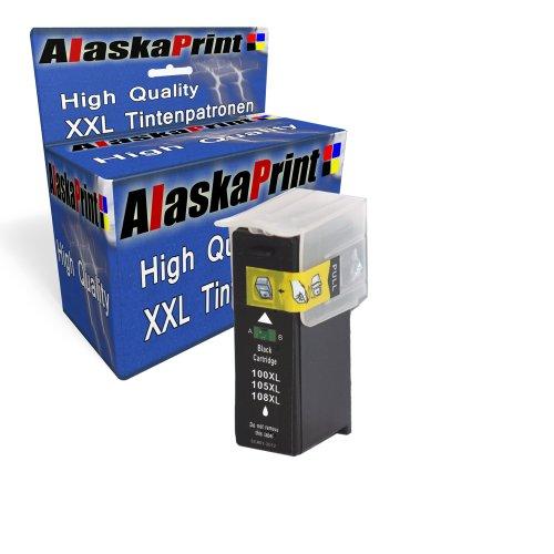 Sparangebot 1x Druckerpatrone Tintenpatrone Ersatz für Lexmark 100 XL (1x Black ) Ink Cartridge Original Manaserie