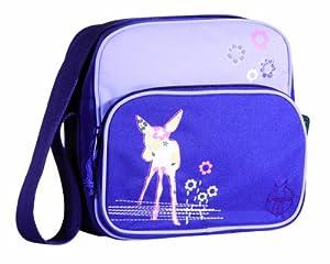 Lässig LMSQ107 - Kindergartentasche Mini Square Bag Deer, viola