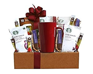 California Delicious Starbucks Coffee Mornings Gift Box, 3.0 Pound