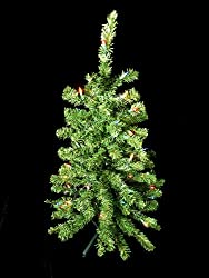 3' Pre-Lit Artificial Table Top Christmas Tree - Multi Lights