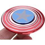 """Berry Collection """"OFFER"""" 1 Selfie Flash Light Free With Fidget Spinner Worth Of 299* Brand New Round Star Shield Cool Hand Spinner Game Perfect For Anxiety Autism Stress Relief Fidget Hand Spinner Game Toys Gifts For Kids"""