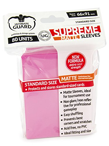Supreme Matte Pink Sleeves (80)