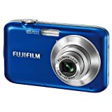 Fujifilm FinePix JV250 (16MP) Digital Camera 3x Optical Zoom 2.7 inch LCD (Blue)