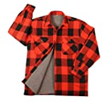 ROTHCO BUFFALO PLAID SHERPA LINED JAC...