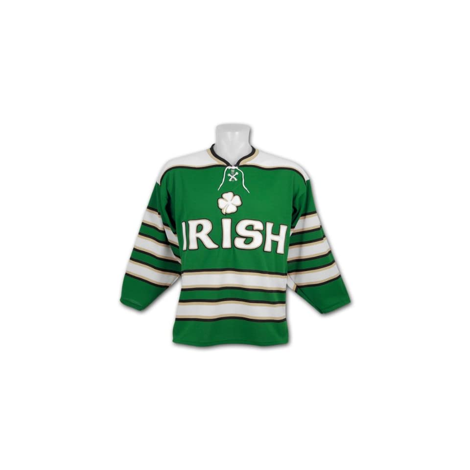 1a86c2aca Patricks Irish  Pride  Replica Dark Hockey Jersey on PopScreen