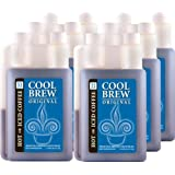 Cool Brew® Fresh Coffee Concentrate - Original 6 x 1 Liter - Make Iced Coffee or Hot Coffee - Enough for over 200 cups