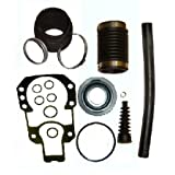 Transom Bellows Kit with Gimbal Bearing for Mercruiser Alpha I Gen II similar to 30-803099T1 by Tungsten Marine