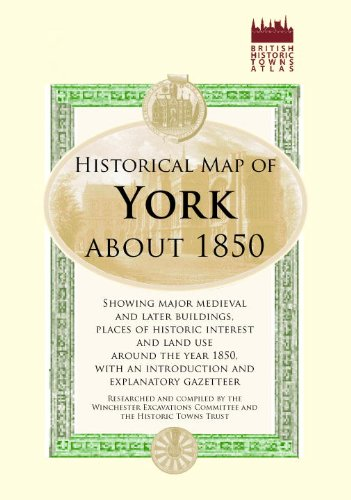 Map of York, c1850 (Old House)
