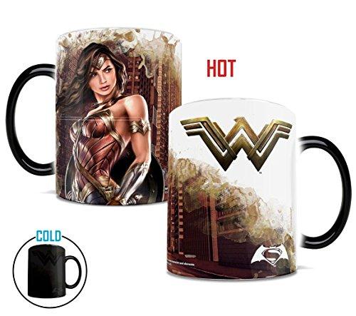 Vandor 75351 Wonder Woman Plastic Travel Mug Blue 16