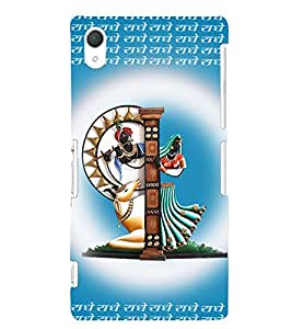 printtech Lord Radhe Back Case Cover for Sony Xperia Z2::Sony Xperia Z2 L50W D6502 D6503