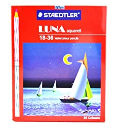 Staedtler Luna Aquarell 18-36 Watercolour pencils