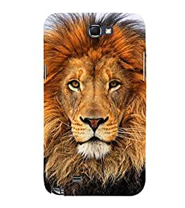 Lion Wallpaper 3D Hard Polycarbonate Designer Back Case Cover for Samsung Galaxy Note i9220 :: Samsung Galaxy Note 1 N7000