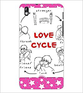 PrintDhaba Quote D-3922 Back Case Cover for HTC DESIRE 816 (Multi-Coloured)