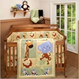 Little Bedding Safari Kids Four Piece Set