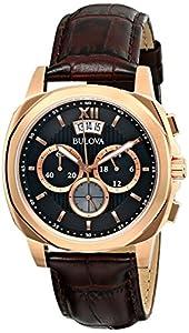 Mens Bulova Dress Chronograph Watch 97B136