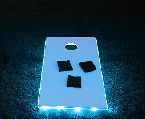 Brightz, Ltd. Blue Toss Brightz LED Lights Cornhole Board Accessory (Micro Bag Toss compare prices)