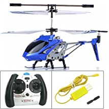 Syma S107G 3.5 Channel RC Helicopter with Gyro Blue