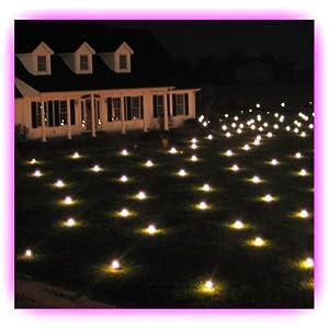 Amazon Lawn Lights Illuminated Outdoor Decoration