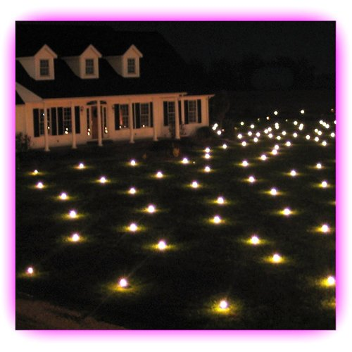 Lawn Lights Illuminated Outdoor Decoration, LED – Red