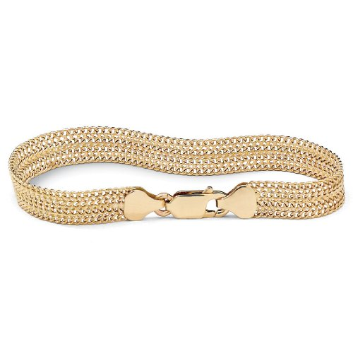 10k Gold Mesh Bracelet